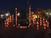 2015.3.11 東日本大震災追悼キャンドルナイトにて @四日市諏訪公園