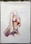 o.T., Buntstift auf Papier, 32,5x42,5cm, 2009