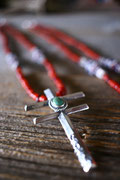 dragonfly  , antique white herat necklace  アンティークホワイトハートネックレス