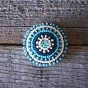 turquoise Mサイズビーズコンチョ