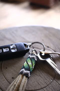 Fringe Key Ring
