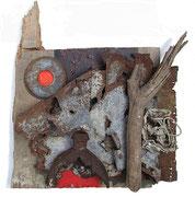 Verdun - Ravin du Helly, 2011, 40x44cm, unverkäuflich
