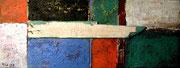 Farbige Flächen, 2007, 30x80cm, unverkäuflich Privatbesitz Balingen