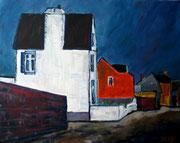 Häuser an der Küste, 2007, 40x50cm