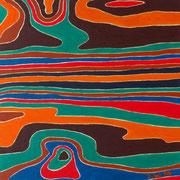Farben der Bretagne, 2014, 30x30cm