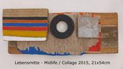 Lebensmitte - Midlife, 2015, 21x54cm