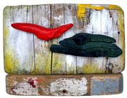 Fische, 2005, 27x37cm