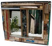 Bretonischer Spiegel, 2006, 46x51cm