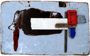 Oostende Raversijde Hond, 2011, 50x85cm