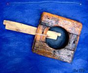 Schwarzes Loch, 1997, 50x60cm