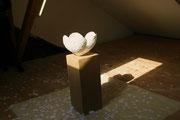 sakura, skulptur © erdengoldkUNSTwerk, nathalie arun und cornelia kalkhoff