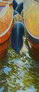 In-Between, Pastel on Pastelmat, 77x33cm, 2013