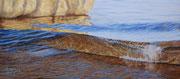 About to break, Pastel on Pastelmat, 33x77cm, 2013