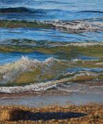 Wave III, Pastel, 30x23cm, 2015