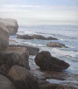 Morning Mist, Pastel, 47x41cm, 2014