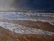 Nordseestrand, Pastell auf Pastelcard, ca. 50x65cm, 2012, Private Collection