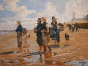 Master copy John Singer Sargent, Öl, 60x80cm, 2020