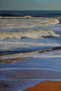Winter Morning at the Beach, Pastel on Pastelcard, 60x40cm, 2011