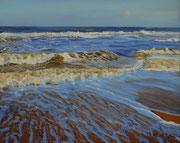 Strandstück, Pastell auf Pastelcard, ca. 40x50 cm, 2011, Private Collection