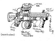 「クライムハンター2」デザイン画