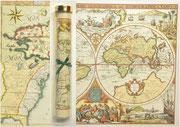 Carte géographique historique