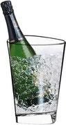 Eiskübel für eine Flasche