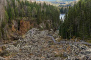 Wasserfall Döda