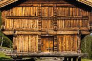 Üblicherweise ist ein Stabbur aus Holz gebaut.