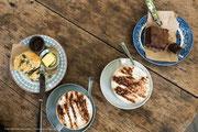 Bei Tobermory: Sgriob-ruadh Farm, Café in der Garden Barn