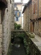Saint Antonin Noble Val (82), Rue Rive Valat