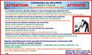 Panneaux décret Laverie