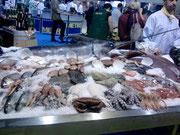 Fischstand auf der Hogana