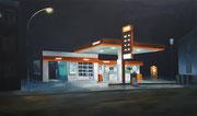 Feierabend, 2017, 100 x 170cm, Öl/Leinwand