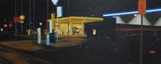 Annäherung, 2011, 80 x 200 cm, Öl/Leinwand