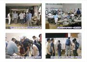 【パネル番号13】災害ボランティアセンター・設置準備の様子(長野)