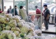 【パネル番号11】災害救援物資(袋詰めパン)の仕分け作業(中越)