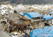 【パネル番号6】地震で被災した民家