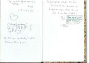 Livre d'or de la Médiathèque de Barbenrtane - 5 avril 14