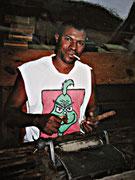 In der Zigarrendreherei