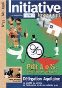 Apec 1% initiative logement - magazine client/institutionnel n°55 mai 1996 <a href=http://cargnelli.jimdo.com/index-des-entreprises/apec-1-logement/initiative-logement> cliquer ICI pour lire/voir les articles </a>