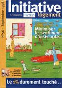 Apec 1% initiative logement - magazine client/institutionnel n°58 septembre 1996 <a href=http://cargnelli.jimdo.com/index-des-entreprises/apec-1-logement/initiative-logement> cliquer ICI pour lire/voir les articles </a>