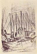 Le antenne metalliche del circo