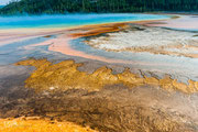 Grand Prismatic Spring - Midway Geyser Basin - Yellowstone National Park - 2016