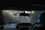 Taxi Ride to Arambol - we survived!