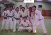 2006 Training at Kodokan Tokyo Japan I'm the bearded one in the center