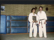 Me and Warwick Slade late 70's Club Championships
