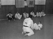 Head instructor at Yinnar Judo 1990's