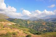 Landschaft Stausee Potami
