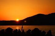 Sonnenuntergang Kavros