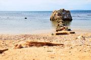 Steinreicher Strand